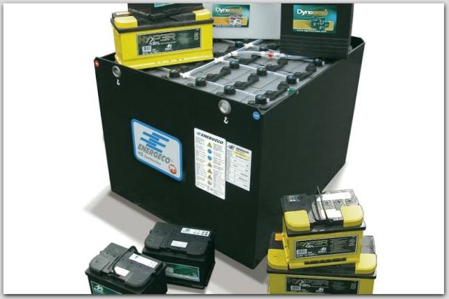 тяговые батареи для складской техники